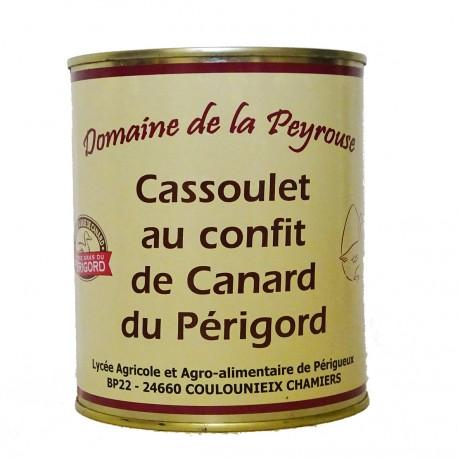 CASSOULET AU CONFIT DE CANARD - 840 g