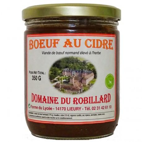 BOEUF AU CIDRE - 350 g