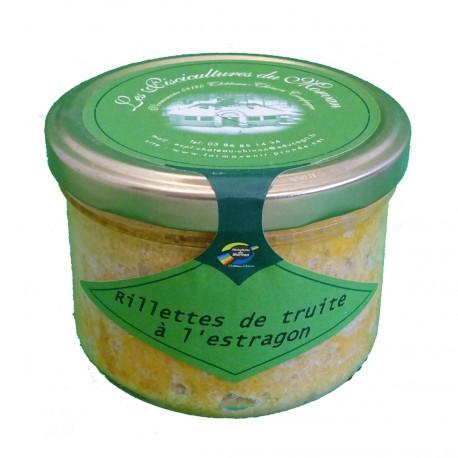 RILLETTES DE TRUITE Á L'ESTRAGON - 200 g