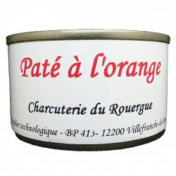 PÂTÉ Á L'ORANGE (PORC) - 125 g