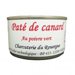 PÂTÉ DE CANARD AU POIVRE VERT - 125 g