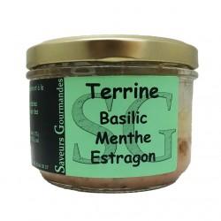 TERRINE BASILIC MENTHE ESTRAGON - 180 g