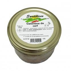 GALANTINE DE CERF - 180 g
