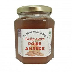 GELEE EXTRA POIRE AMANDE - 300 g