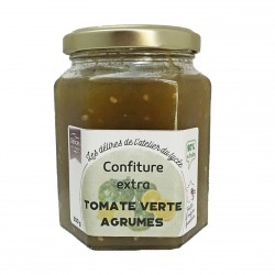 CONFITURE EXTRA TOMATE VERTE AGRUMES - 300 g