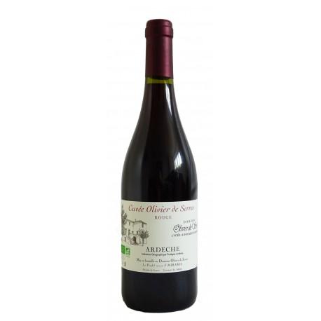 Olivier de Serres Ardèche Rouge Bio 2014 - Aubenas - 75 cl