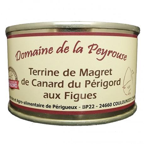 TERRINE DE MAGRET DE CANARD DU PERIGORD AUX FIGUES - 130 g