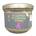 RILLETTES DE HARENGS FUMES - 180 g