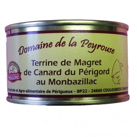 TERRINE DE MAGRET DE CANARD DU PERIGORD AU MONBAZILLAC - 130 g