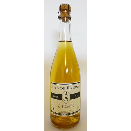 JUS DE RAISIN BLANC PÉTILLANT - 75 cl