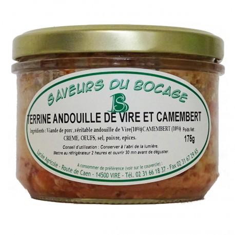 TERRINE ANDOUILLE DE VIRE ET CAMEMBERT - 175 g