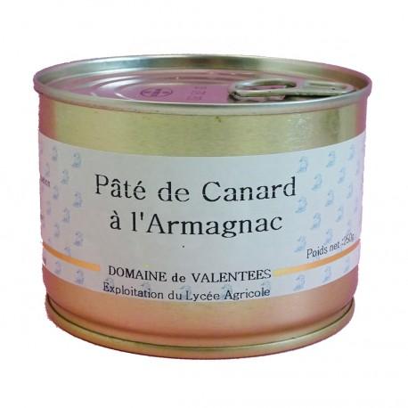PÂTÉ DE CANARD À L'ARMAGNAC - 250 g