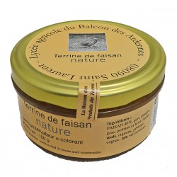 TERRINE DE FAISAN NATURE - 150 g