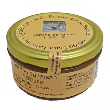 TERRINE DE FAISAN NATURE - 150 g