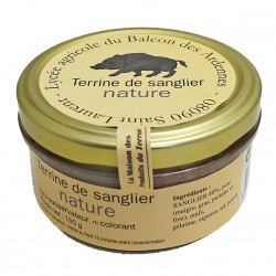 TERRINE DE SANGLIER NATURE - 150 g