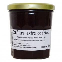 CONFITURE EXTRA DE FRAISES - 330 g