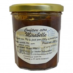 CONFITURE EXTRA MIRABELLE - 320 g