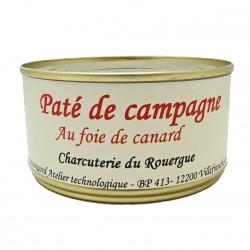 PÂTÉ DE CAMPAGNE AU FOIE DE CANARD - 190 g