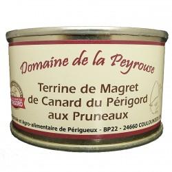 TERRINE DE MAGRET DE CANARD DU PERIGORD AUX PRUNEAUX - 130 g