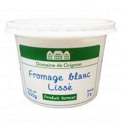 FROMAGE BLANC LISSE - 500G