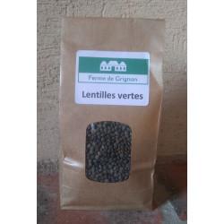 LENTILLES VERTES - 500 g